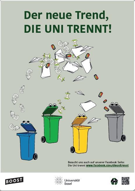 Die Uni trennt - Plakat